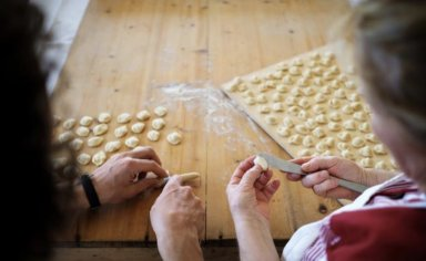 Bike tour and italian cooking lesson in Salento