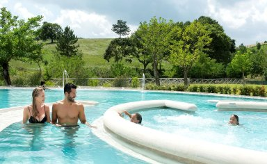 Chianciano spa and outdoor nature activities for kids and adults