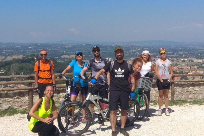 Art and nature in Umbria by e-bike