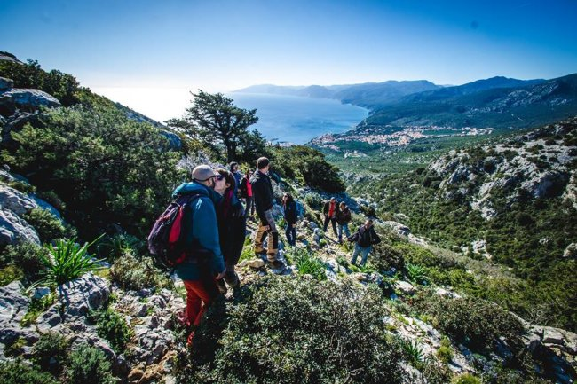 Trekking in authentic Sardinia