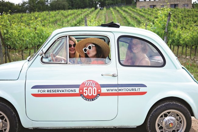 500 Vintage Tours and Chianti Roads