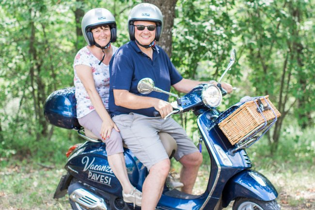 Tour in Vespa in Oltrepò Pavese