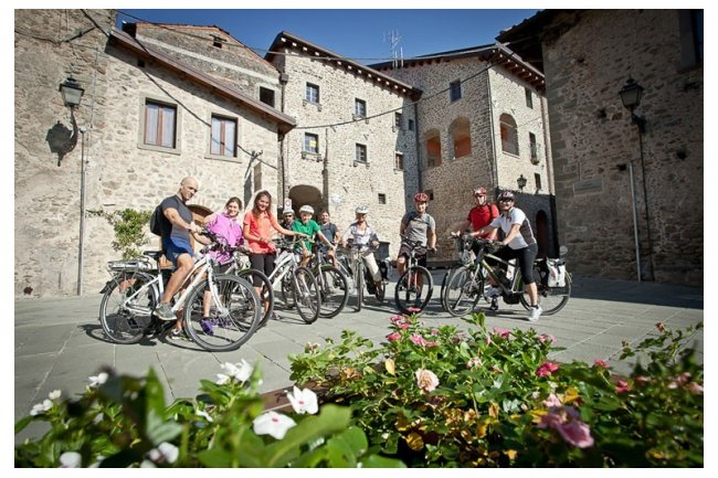 Escursione in e-bike in Lunigiana