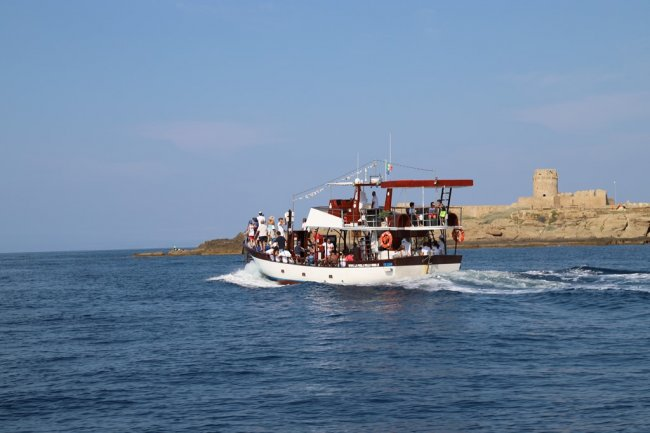 Mini-cruise in the Marine Protected Area of Capo Rizzuto