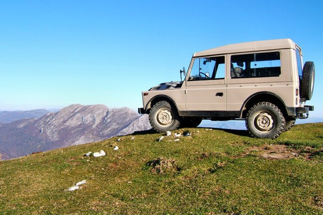 Tour del Molise in Jeep 4×4