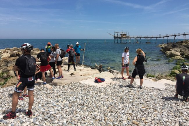 Trekking on the Trabocchi coast